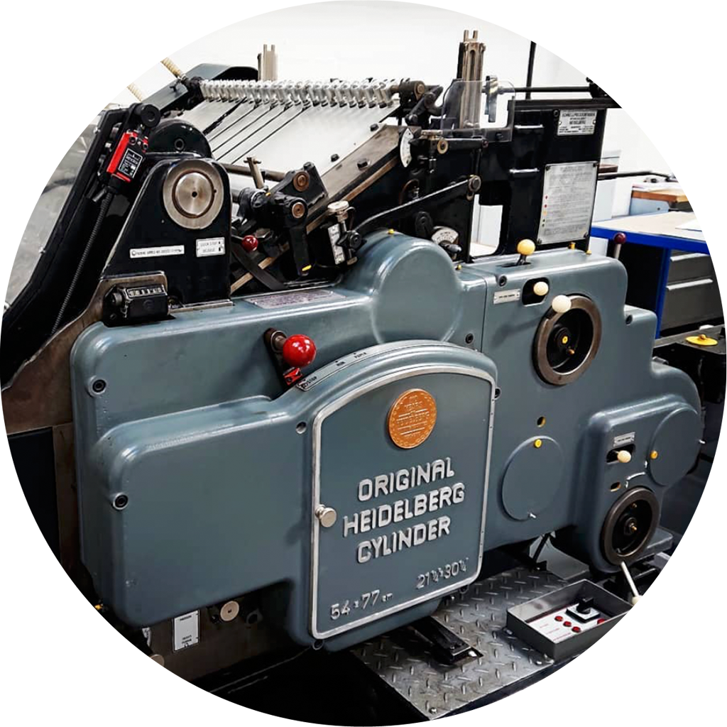 Heidelberg printing press